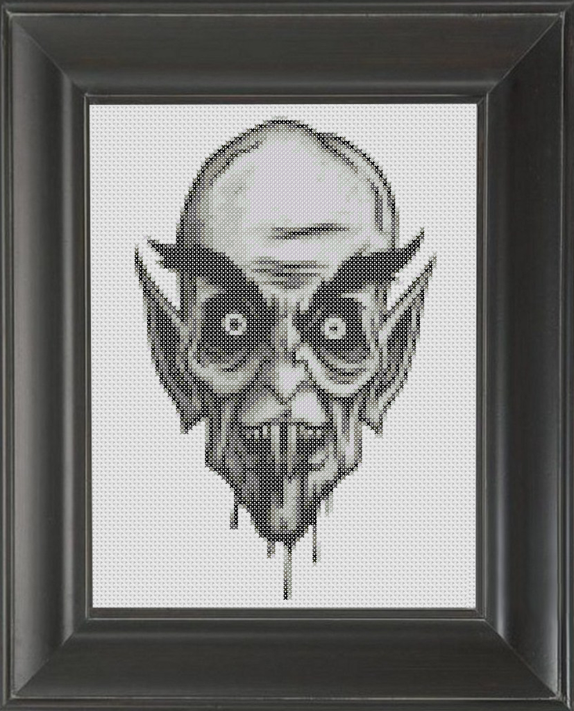 Gollum's Uncle - Cross Stitch Pattern Chart