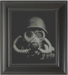 Gas Mask Set - Cross Stitch Pattern Chart Erotic Nude Sexy NSFW