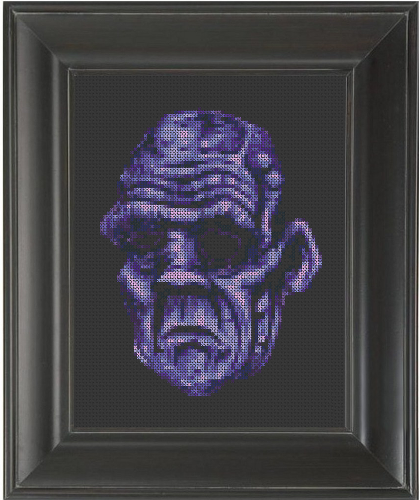 Ghoul - Cross Stitch Pattern Chart