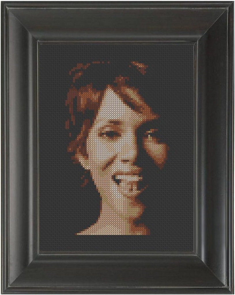 Halle Berry - Cross Stitch Pattern Chart
