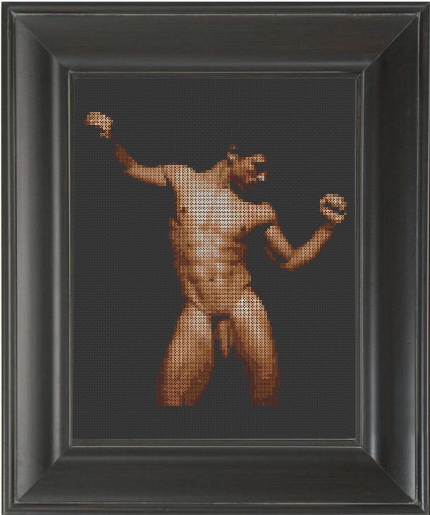 Happy Dance - Cross Stitch Pattern Chart Erotic Nude Sexy NSFW