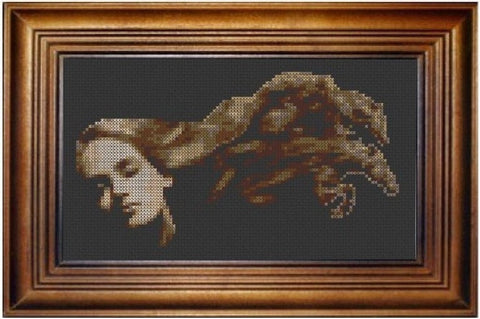 Horse Hair - Cross Stitch Pattern Chart