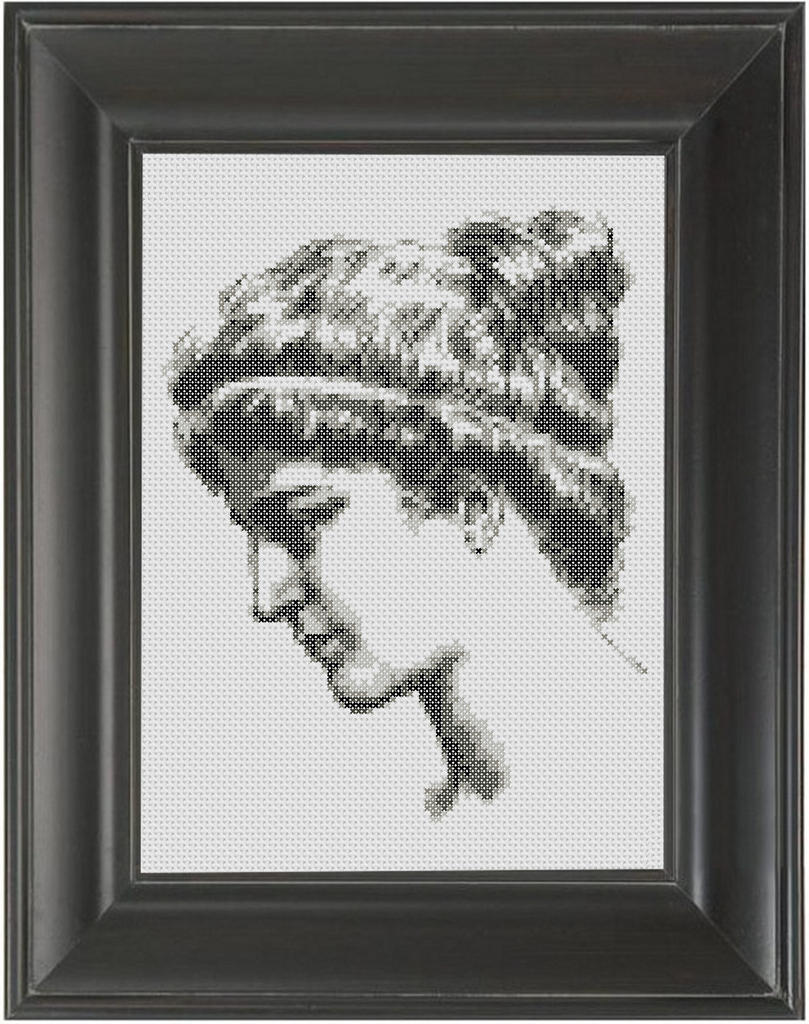 Hypatia of Alexandria - Cross Stitch Pattern Chart