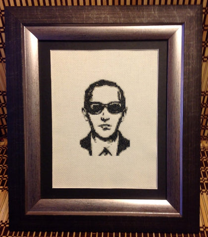 D.B. Cooper - Cross Stitch Pattern Chart