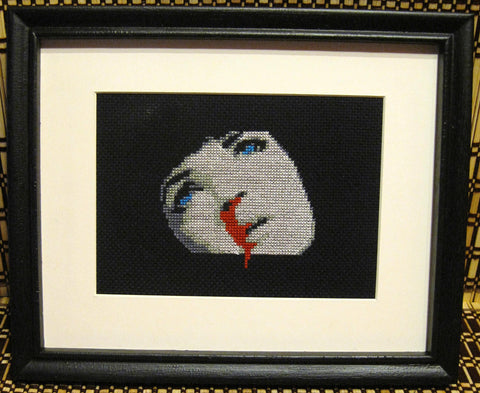 Mia Wallace OD's - Cross Stitch Pattern Chart