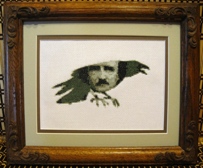 Edgar Allan Poe - Cross Stitch Pattern Chart