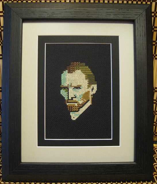 Vincent Van Gogh - Cross Stitch Pattern Chart