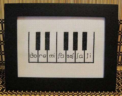 Do Re Mi - Cross Stitch Pattern Chart