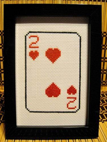 Two of Hearts - Cross Stitch Pattern Chart