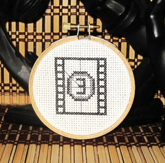 Film Countdown Threezle - Cross Stitch Pattern Chart