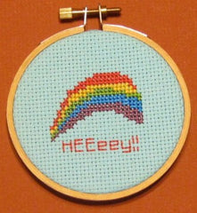 HEEeey! Threezle - Cross Stitch Pattern Chart