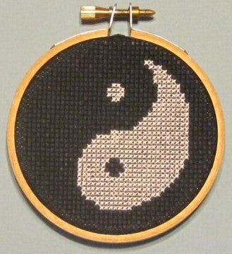 Yin Yang Threezle - Cross Stitch Pattern Chart
