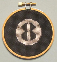 Eight Ball Threezle - Cross Stitch Pattern Chart