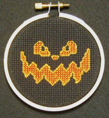 Jack o'lantern Threezle - Cross Stitch Pattern Chart
