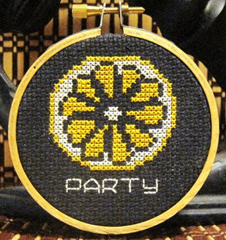 Lemon Party Threezle - Cross Stitch Pattern Chart