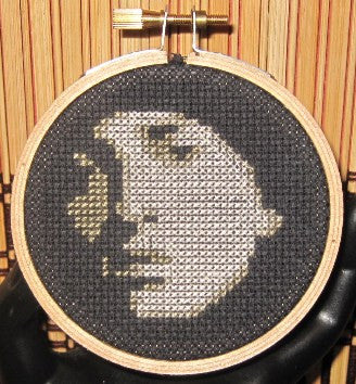 Eminem Threezle - Cross Stitch Pattern Chart