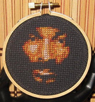 Snoop Dog Threezle - Cross Stitch Pattern Chart