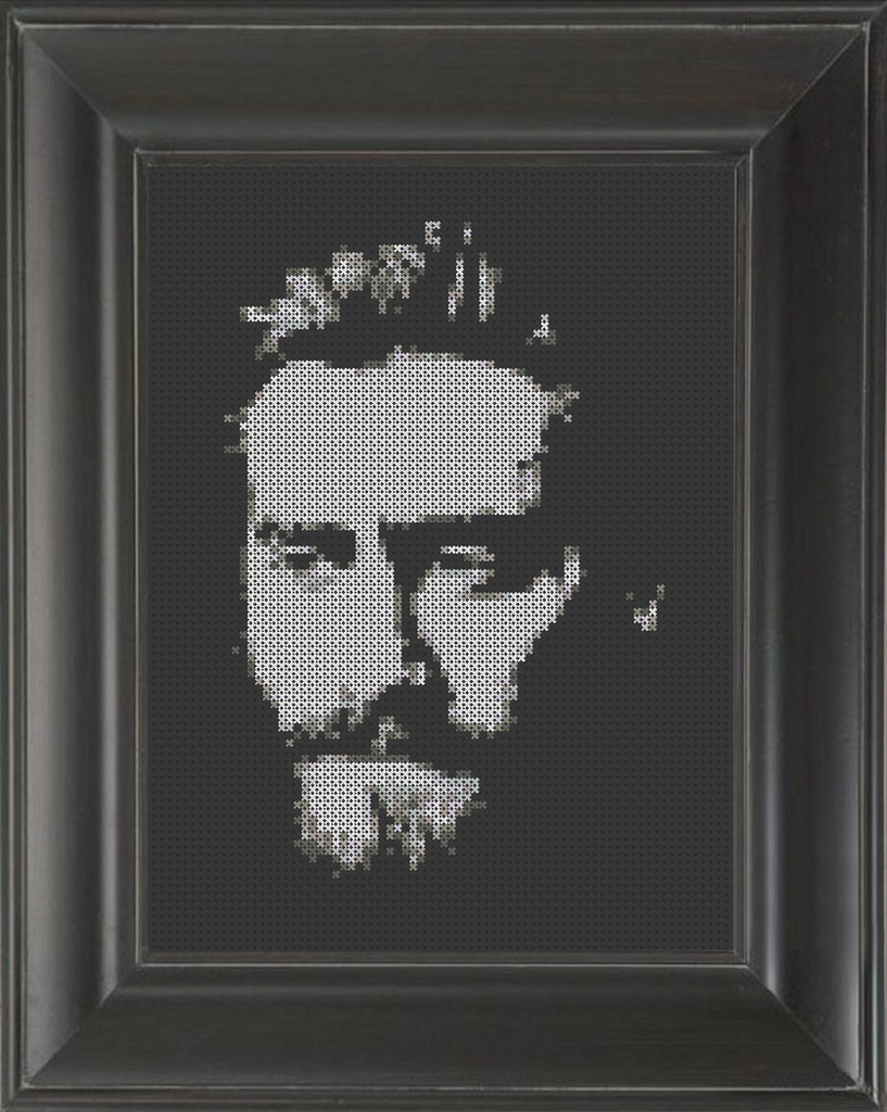 Jake Gyllenhaal - Cross Stitch Pattern Chart
