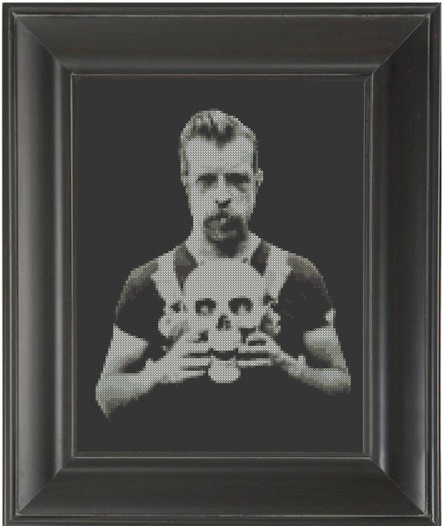 Jesse Hughes 01 - Cross Stitch Pattern Chart