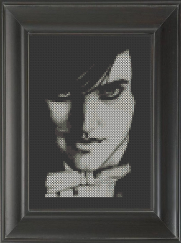 Jared Leto - Cross Stitch Pattern Chart
