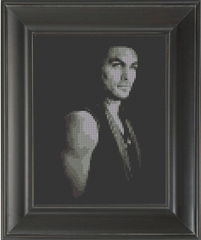 Jason Momoa - Cross Stitch Pattern Chart