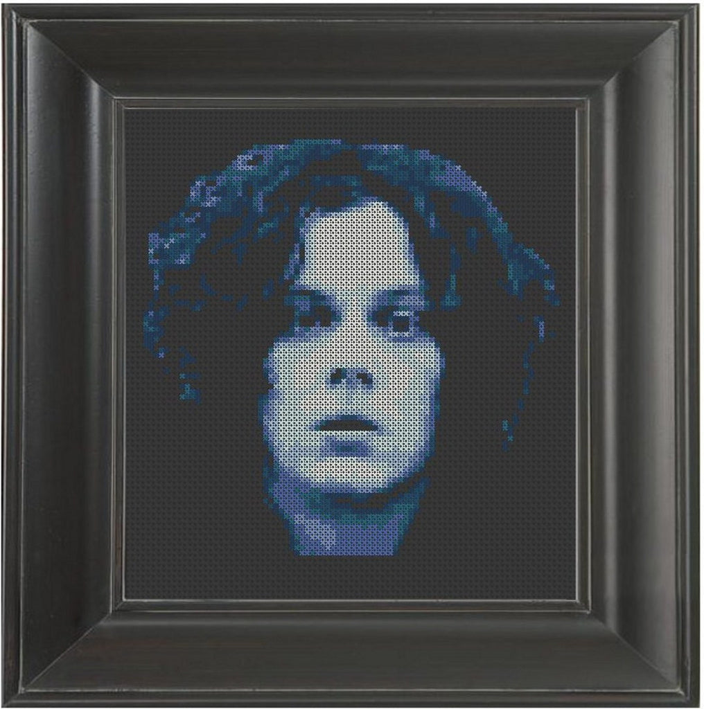 Jack White Blues - Cross Stitch Pattern Chart