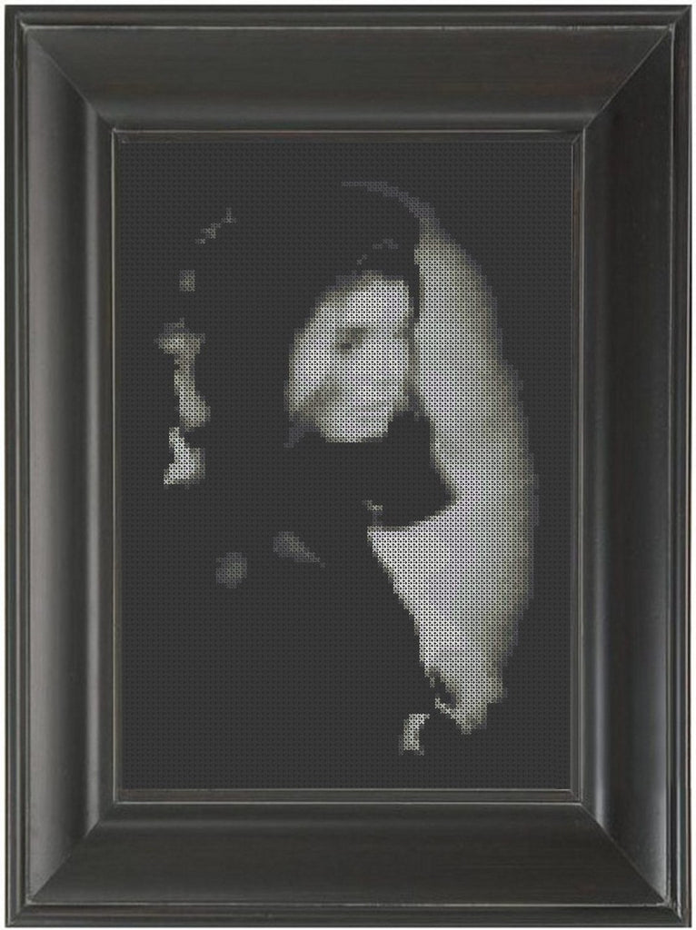 Jackie - Cross Stitch Pattern Chart Kennedy