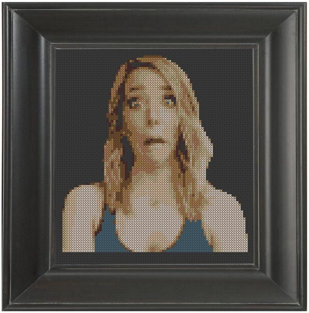 Jenna Marbles - Cross Stitch Pattern Chart