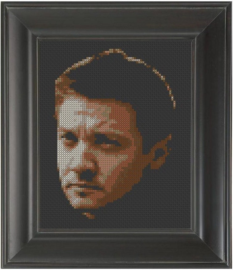 Jeremy Renner - Cross Stitch Pattern Chart