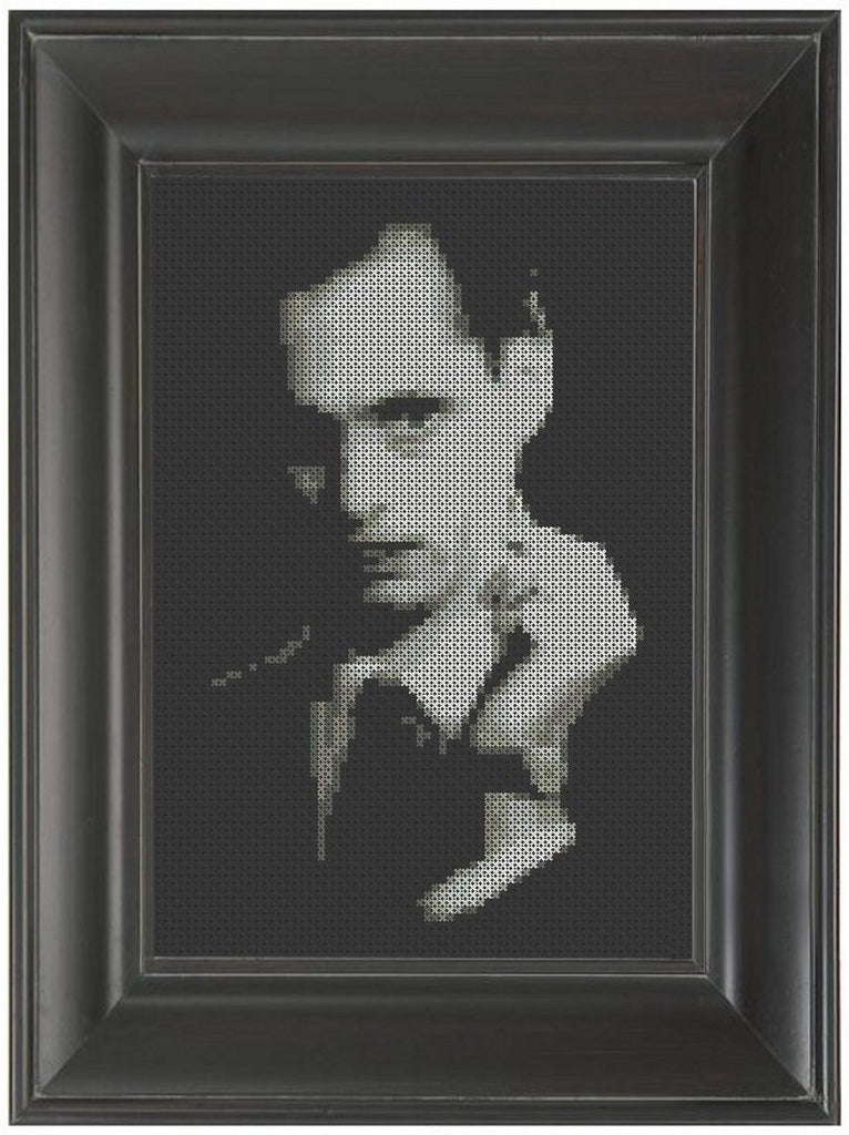 John Waters - Cross Stitch Pattern Chart
