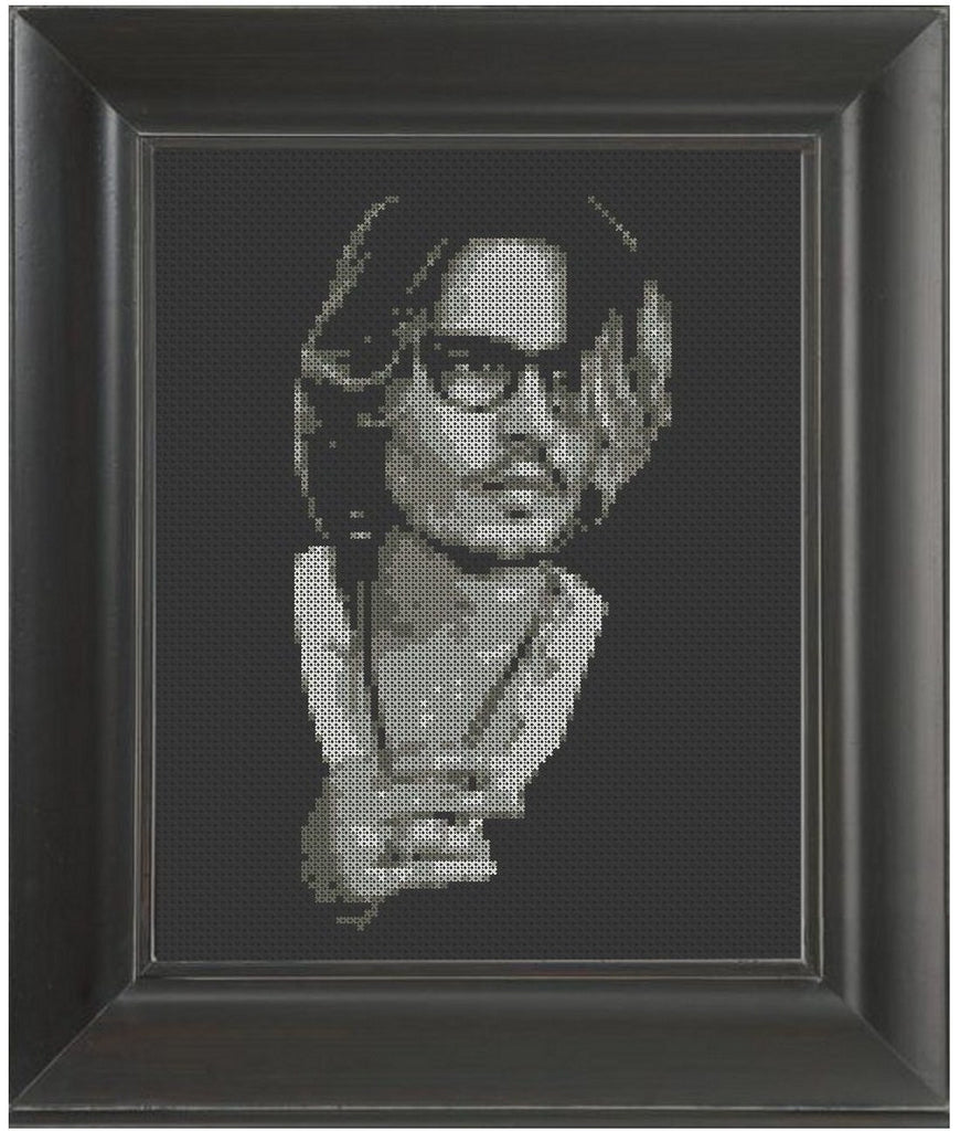 Johnny Depp - Cross Stitch Pattern Chart