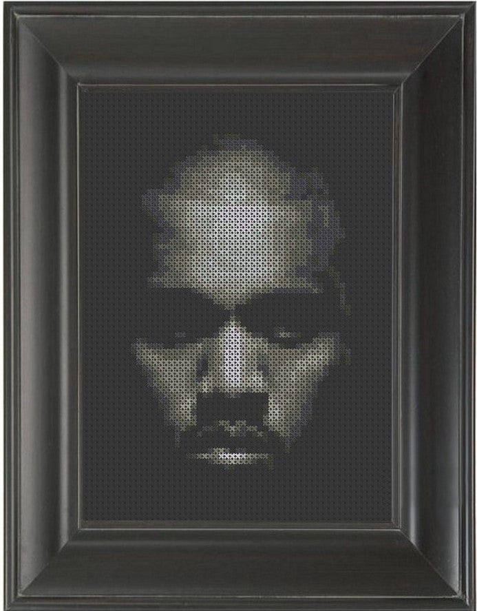 Kanye on Black - Cross Stitch Pattern Chart