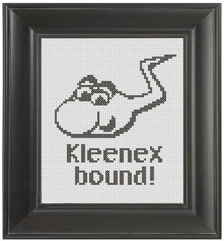 Sperm - Cross Stitch Pattern Chart