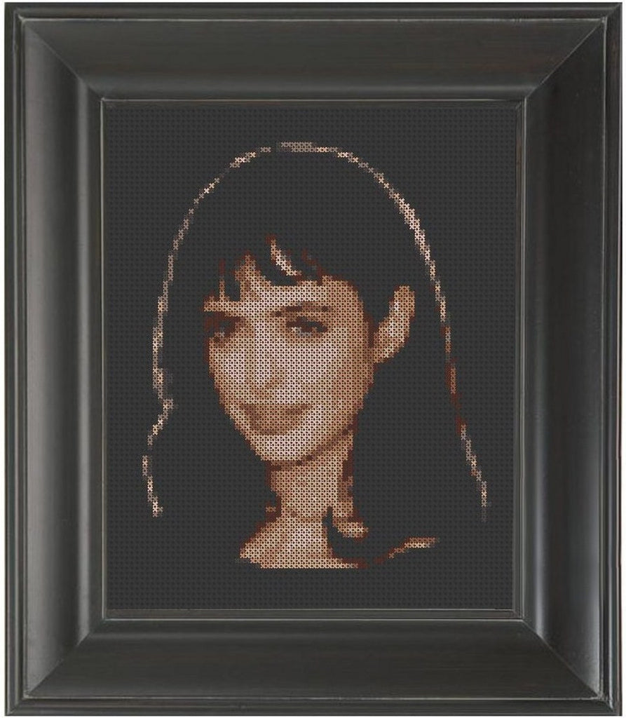 Krysten Ritter - Cross Stitch Pattern Chart