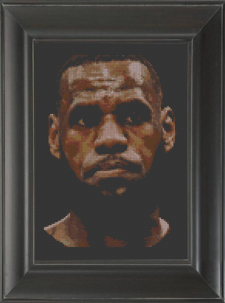 LeBron James - Cross Stitch Pattern Chart