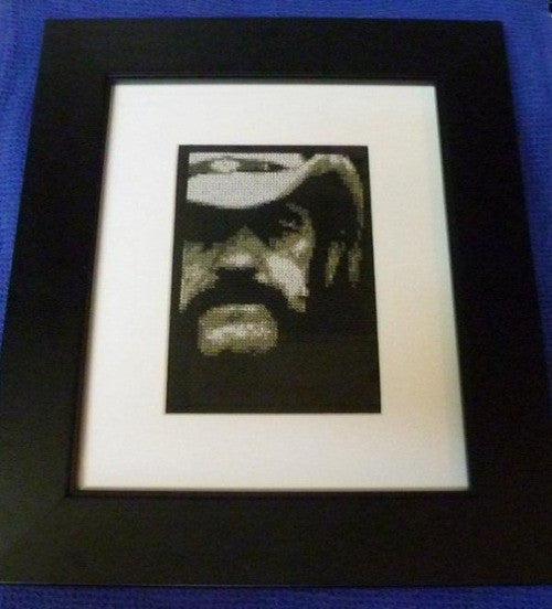 Lemmy - Cross Stitch Pattern Chart