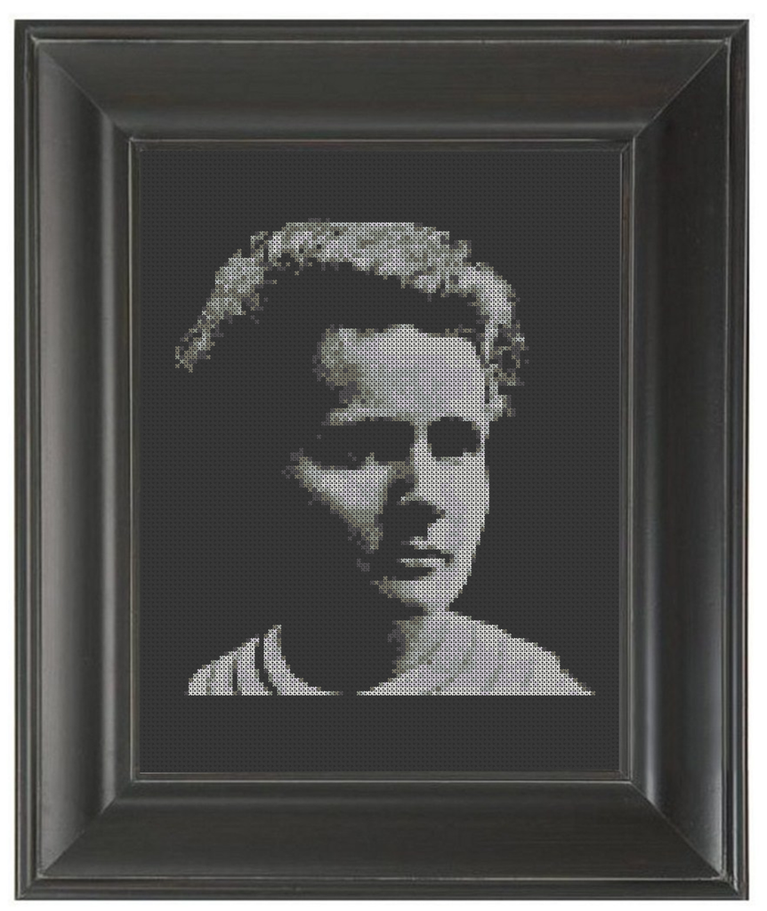 Marie Curie - Cross Stitch Pattern Chart