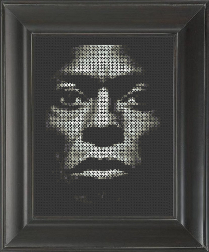 Miles Davis 02 - Cross Stitch Pattern Chart