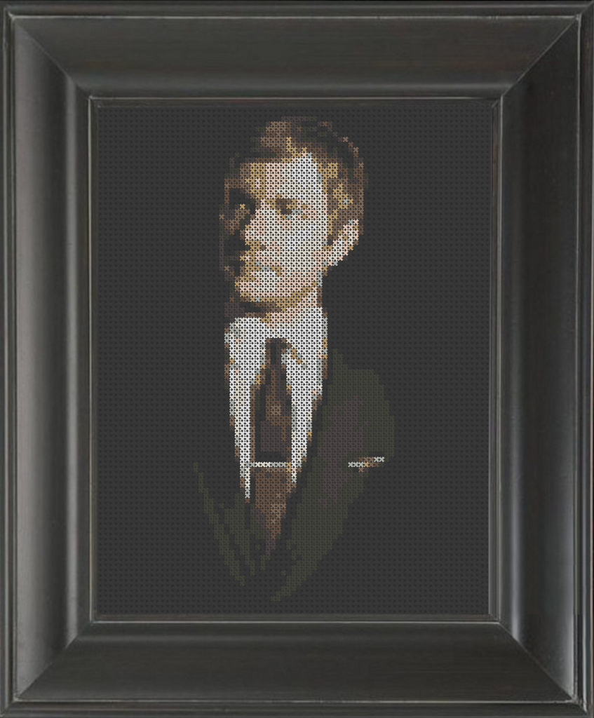 Martin Freeman 01 - Cross Stitch Pattern Chart