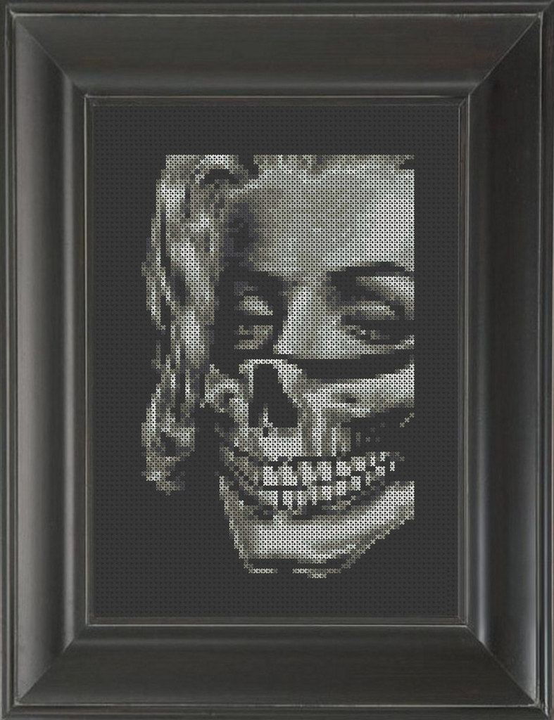 Morbid Monroe - Cross Stitch Pattern Chart