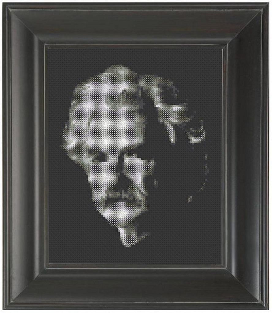 Mark Twain - Cross Stitch Pattern Chart