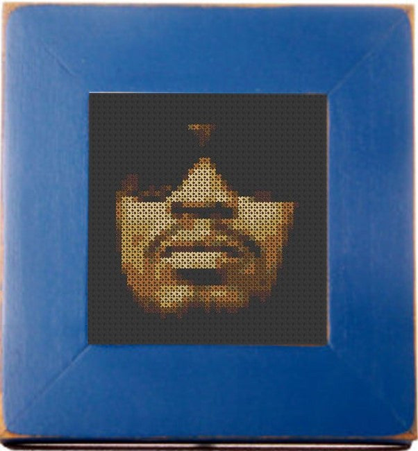 Marshawn Lynch Threezle - Cross Stitch Pattern Chart