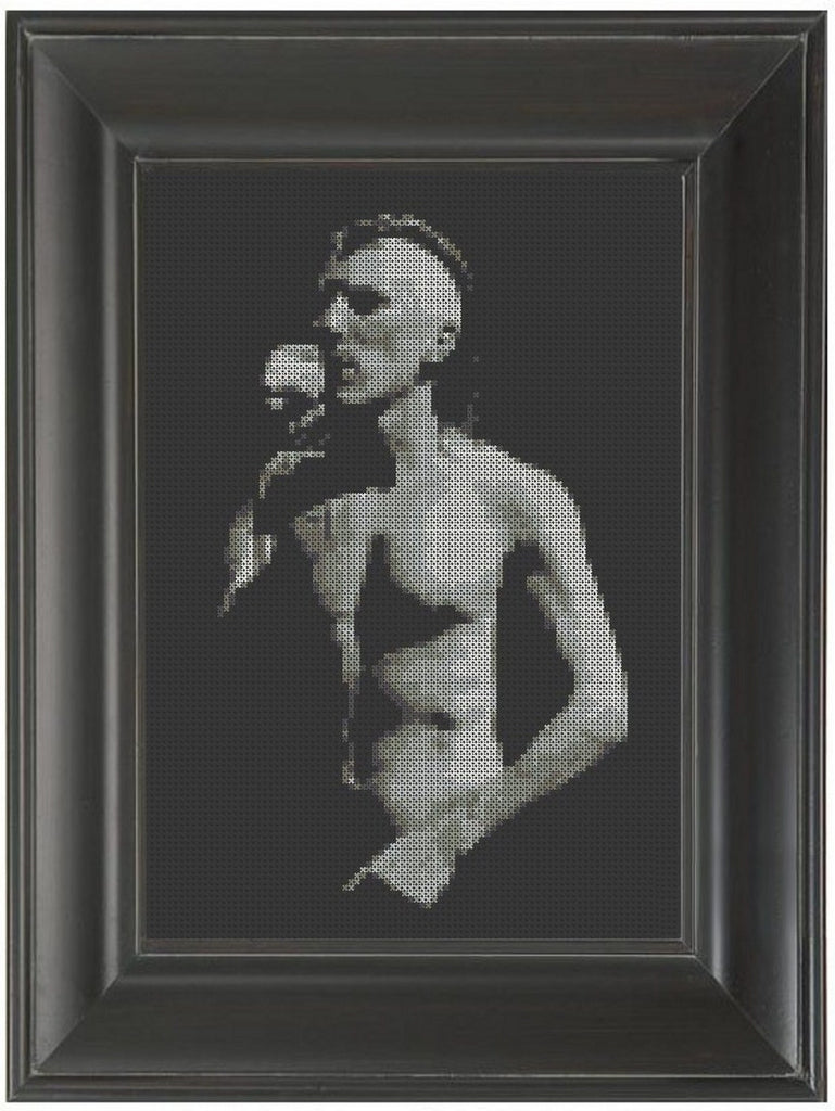 Maynard James Keenan - Cross Stitch Pattern Chart Tool A Perfect Circle