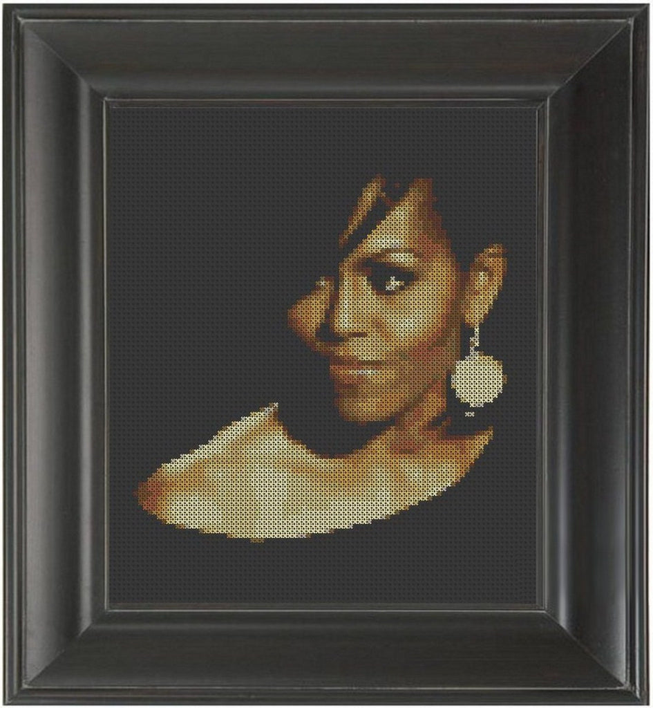 Michelle Obama - Cross Stitch Pattern Chart