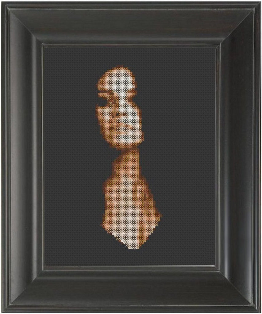 Mila Kunis - Cross Stitch Pattern Chart