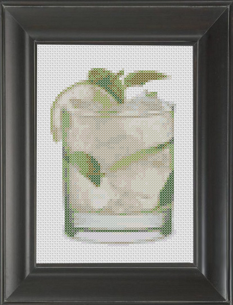 Mojito - Cross Stitch Pattern Chart