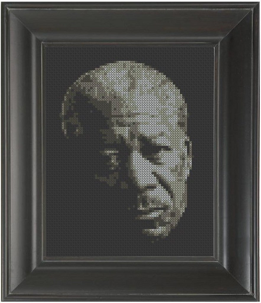 Morgan Freeman - Cross Stitch Pattern Chart