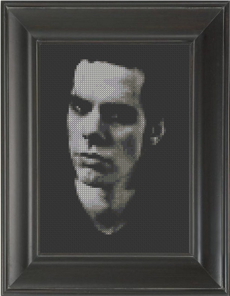Nick Cave - Cross Stitch Pattern Chart