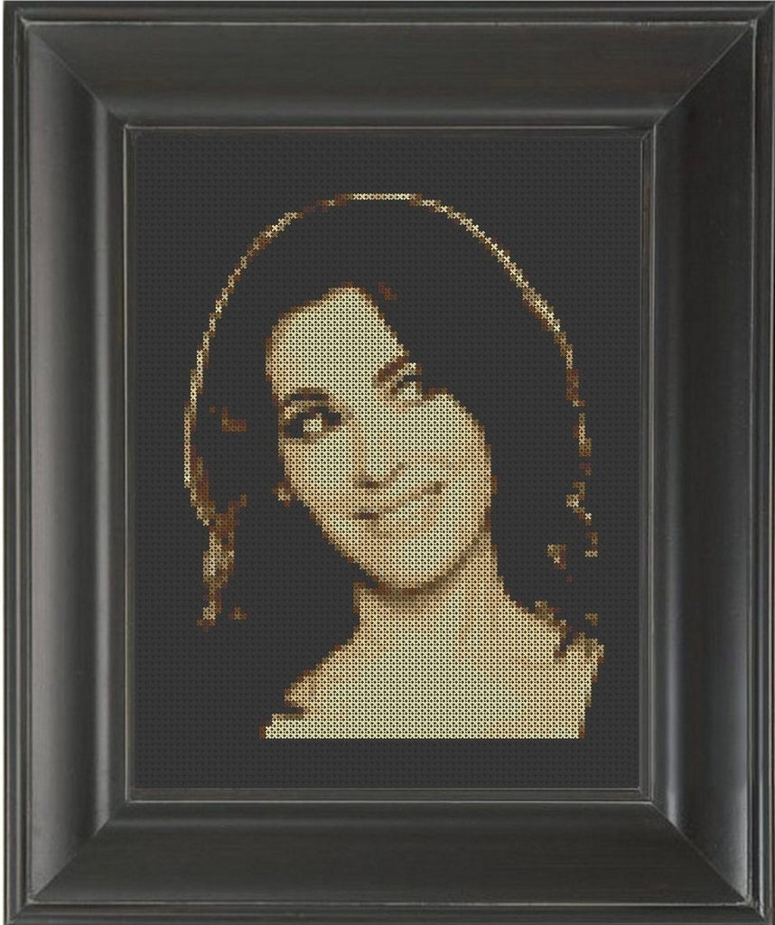Nigella Lawson - Cross Stitch Pattern Chart