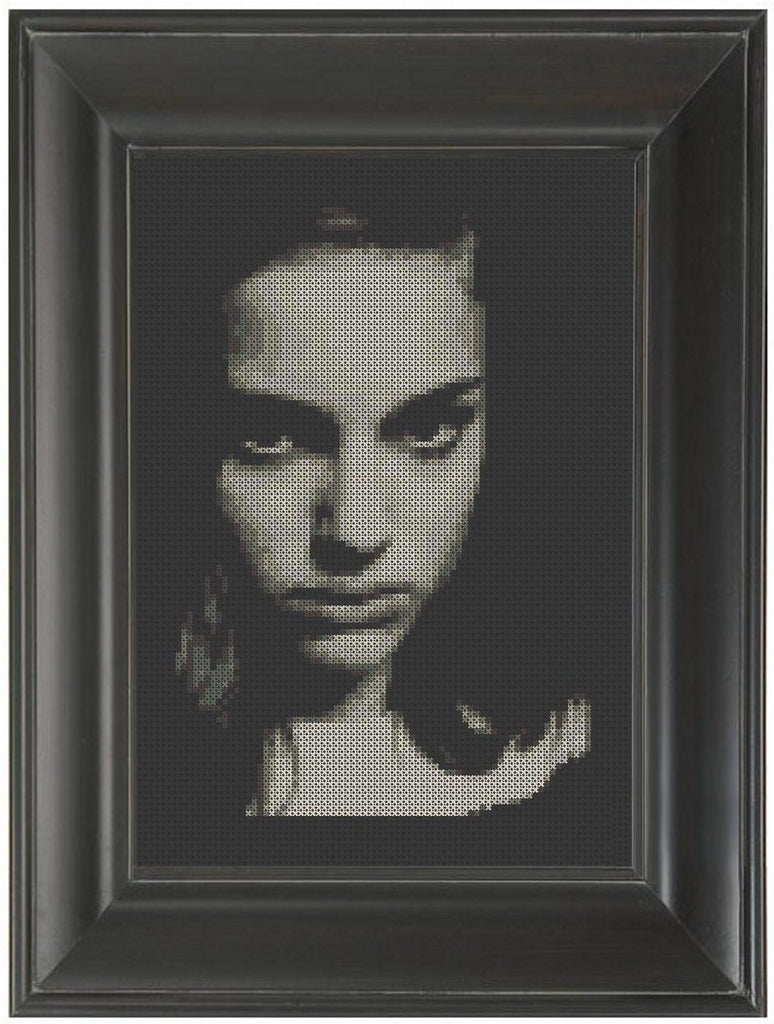 Natalie Portman - Cross Stitch Pattern Chart